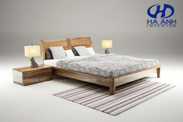 Giường ngủ gỗ tự nhiên Óc Chó HAT-0224
