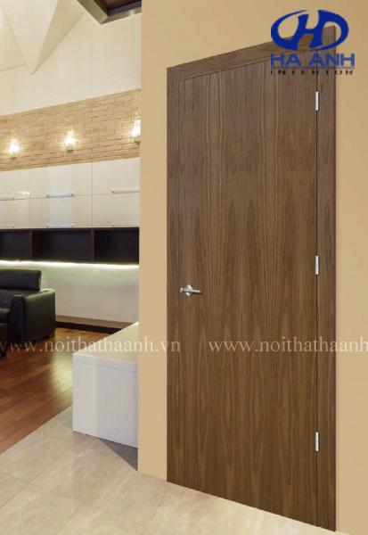 Cửa gỗ veneer óc chó HAV-0113-1