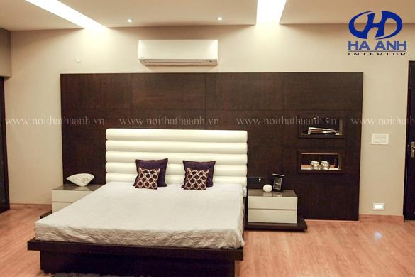 Phòng ngủ veneer óc chó HAV-0216-1