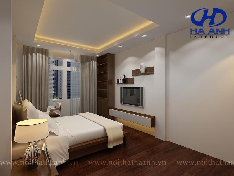 Phòng ngủ veneer óc chó HAV-0219-1