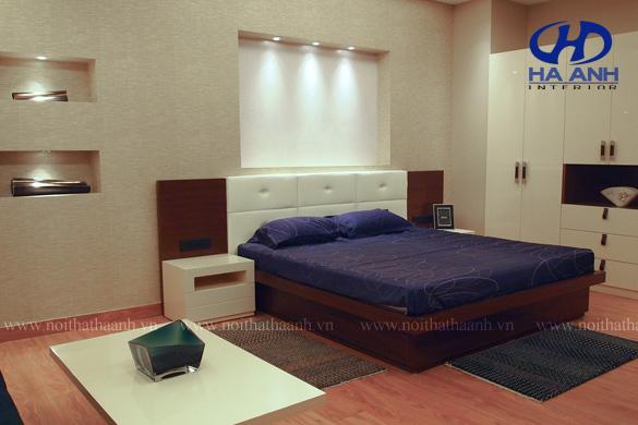 Phòng ngủ veneer óc chó HAV-0220