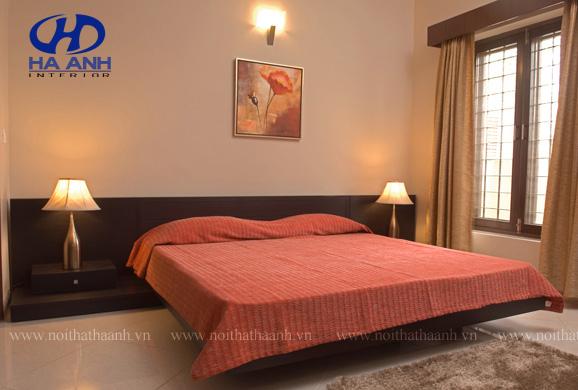 Phòng ngủ veneer óc chó HAV-0221-1