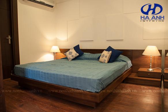 Phòng ngủ veneer óc chó HAV-0222-1