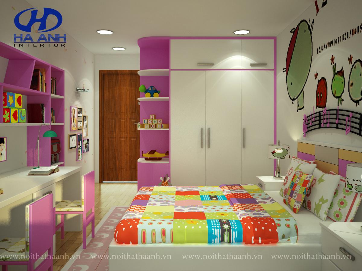 Phòng ngủ trẻ em HA-40312