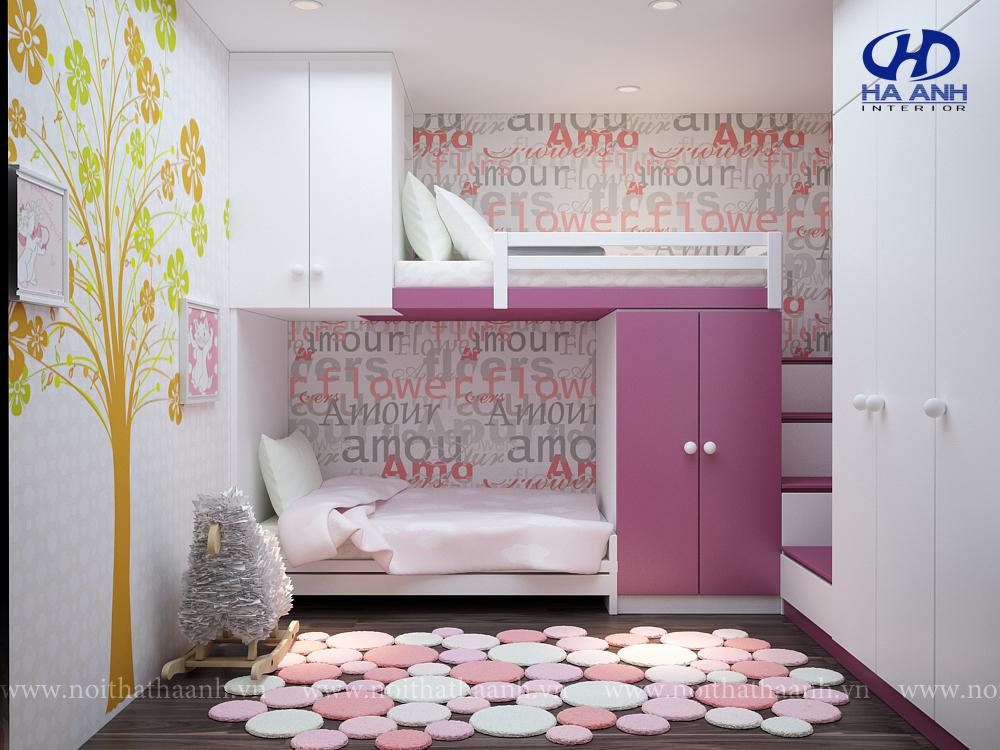 Phòng ngủ trẻ em HA-40318-1