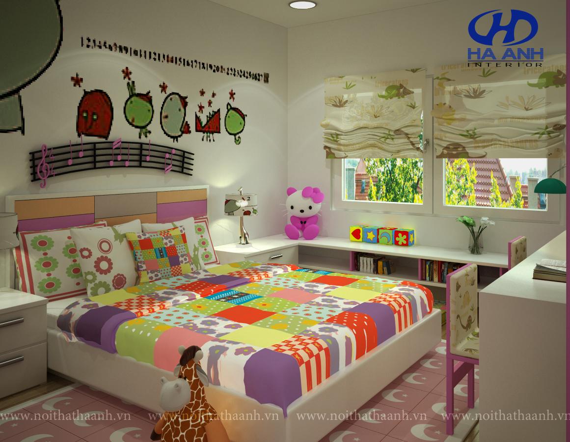 Phòng ngủ trẻ em HA-40324