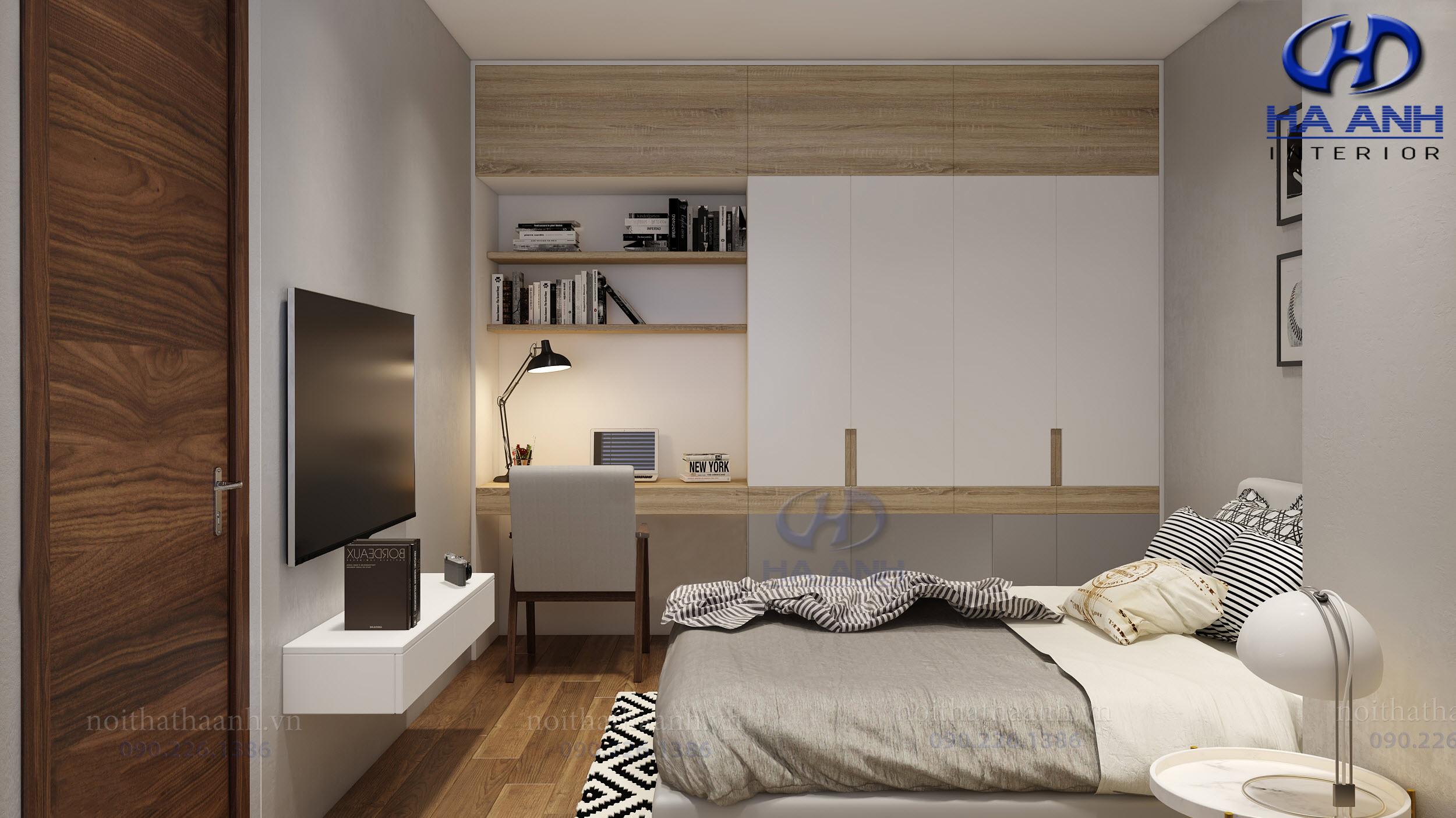 Sản xuất và thi công nội thất gia đình Anh Tuấn Le Pont DOr -  Hoàng Cầu-9