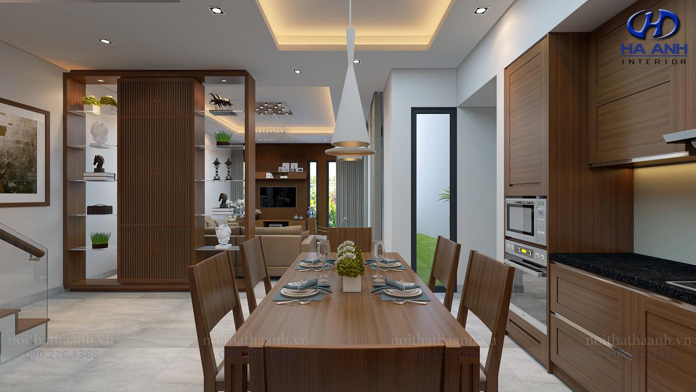 Thiết kế và thi công nội thất gia đình Chị Bích - Sơn La-4