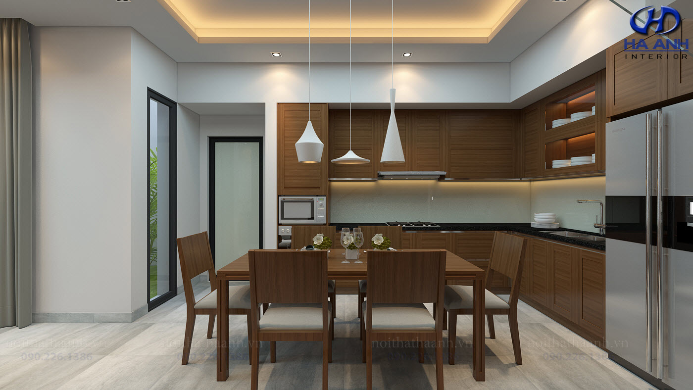 Thiết kế và thi công nội thất gia đình Chị Bích - Sơn La-5