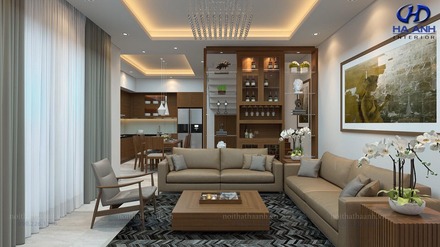 Thiết kế và thi công nội thất gia đình Chị Bích - Sơn La-2
