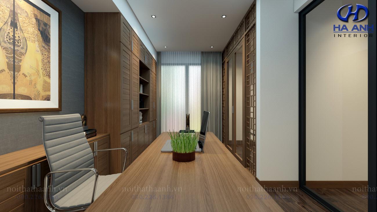 Thiết kế và thi công nội thất gia đình Chị Bích - Sơn La-11