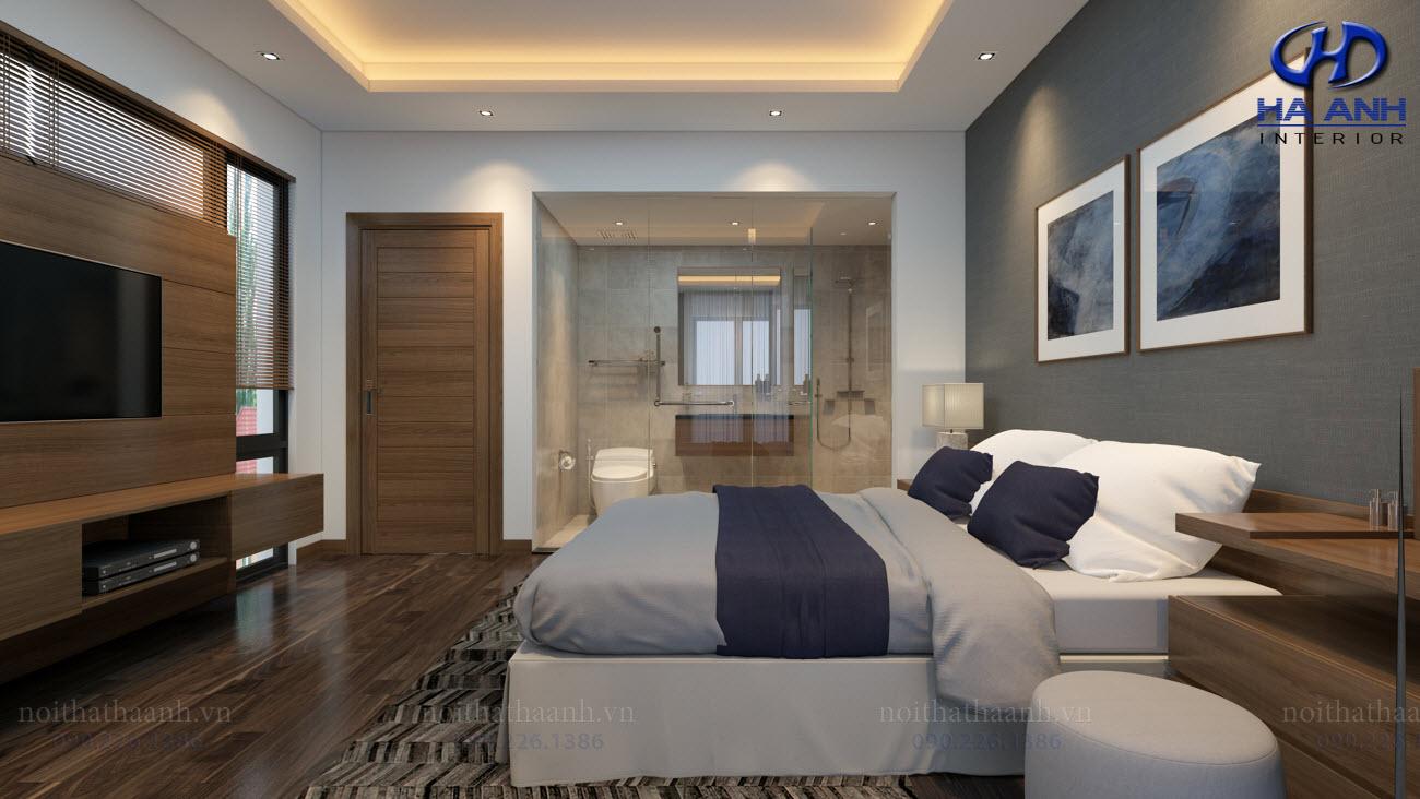 Thiết kế và thi công nội thất gia đình Chị Bích - Sơn La-6
