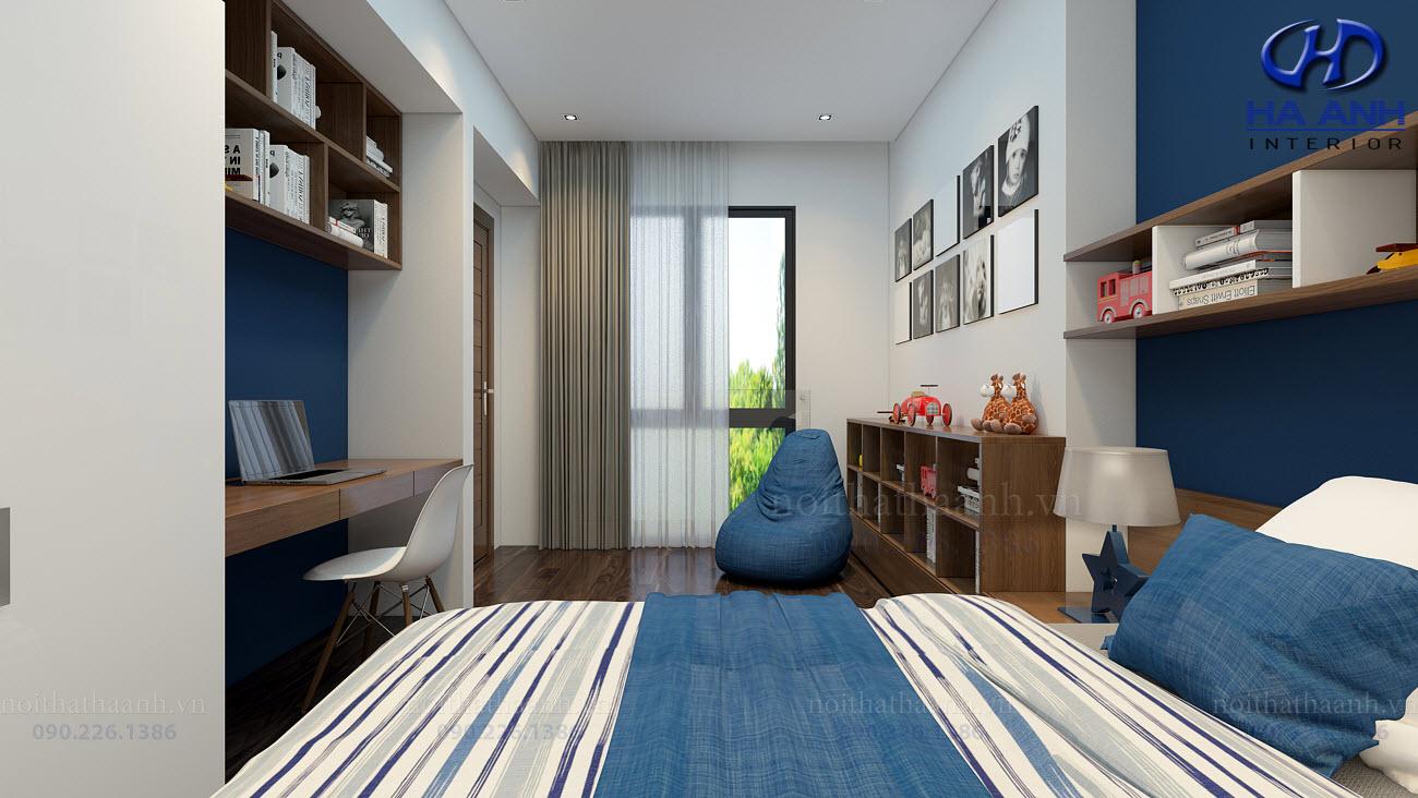 Thiết kế và thi công nội thất gia đình Chị Bích - Sơn La-9