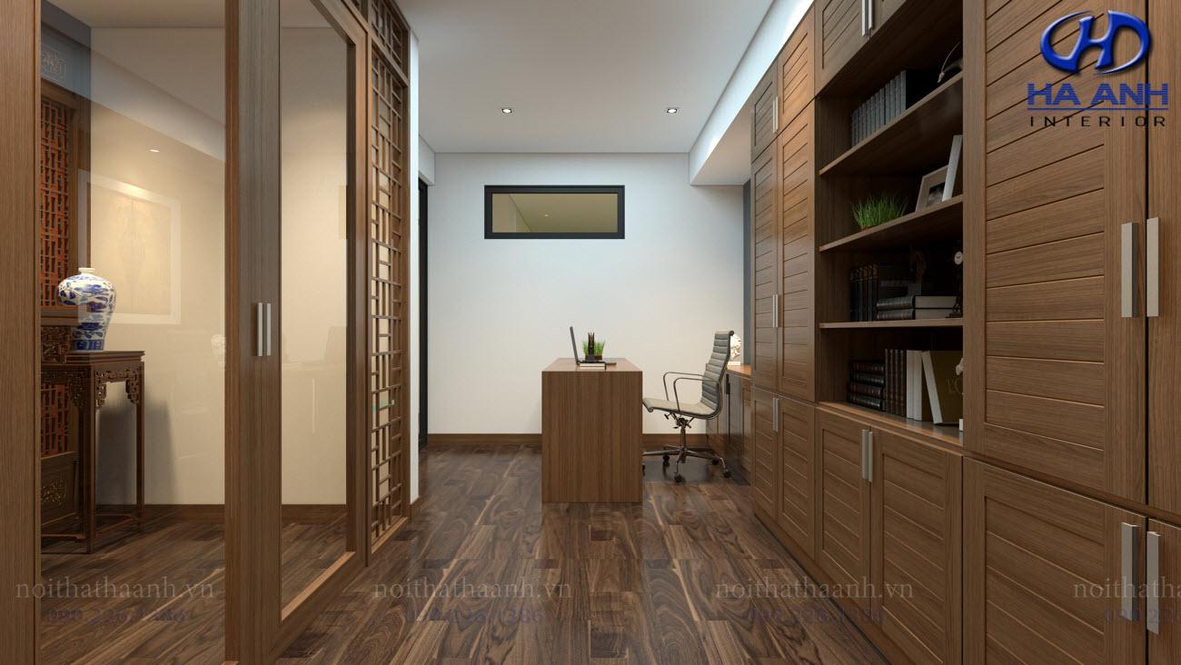 Thiết kế và thi công nội thất gia đình Chị Bích - Sơn La-14