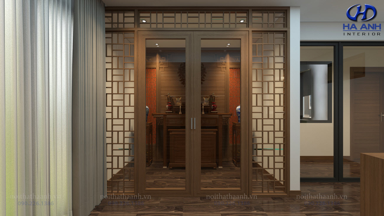 Thiết kế và thi công nội thất gia đình Chị Bích - Sơn La-15