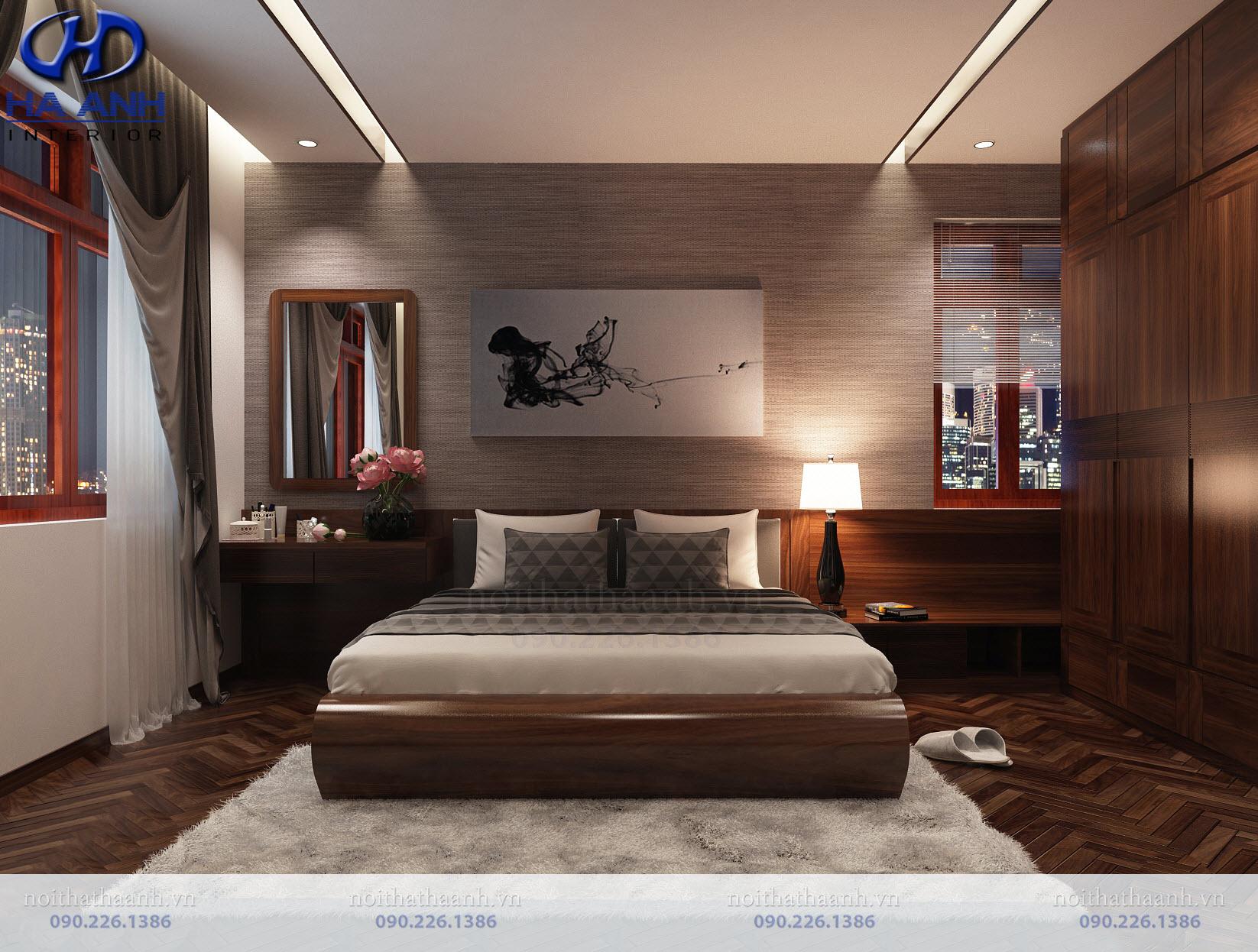 Thiết kế và thi công nội thất gia đình chị Vân TP Sơn La-10