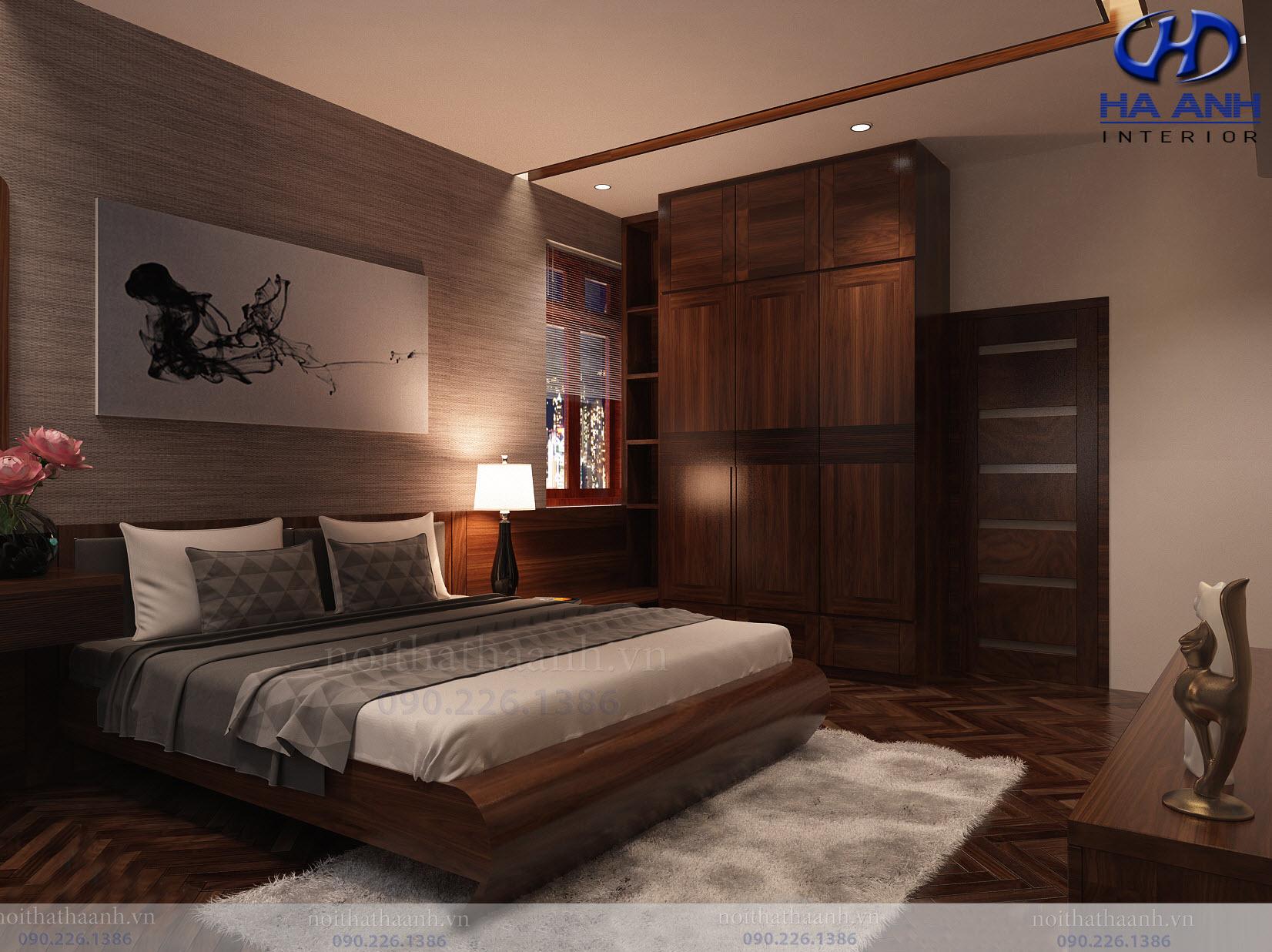 Thiết kế và thi công nội thất gia đình chị Vân TP Sơn La-11