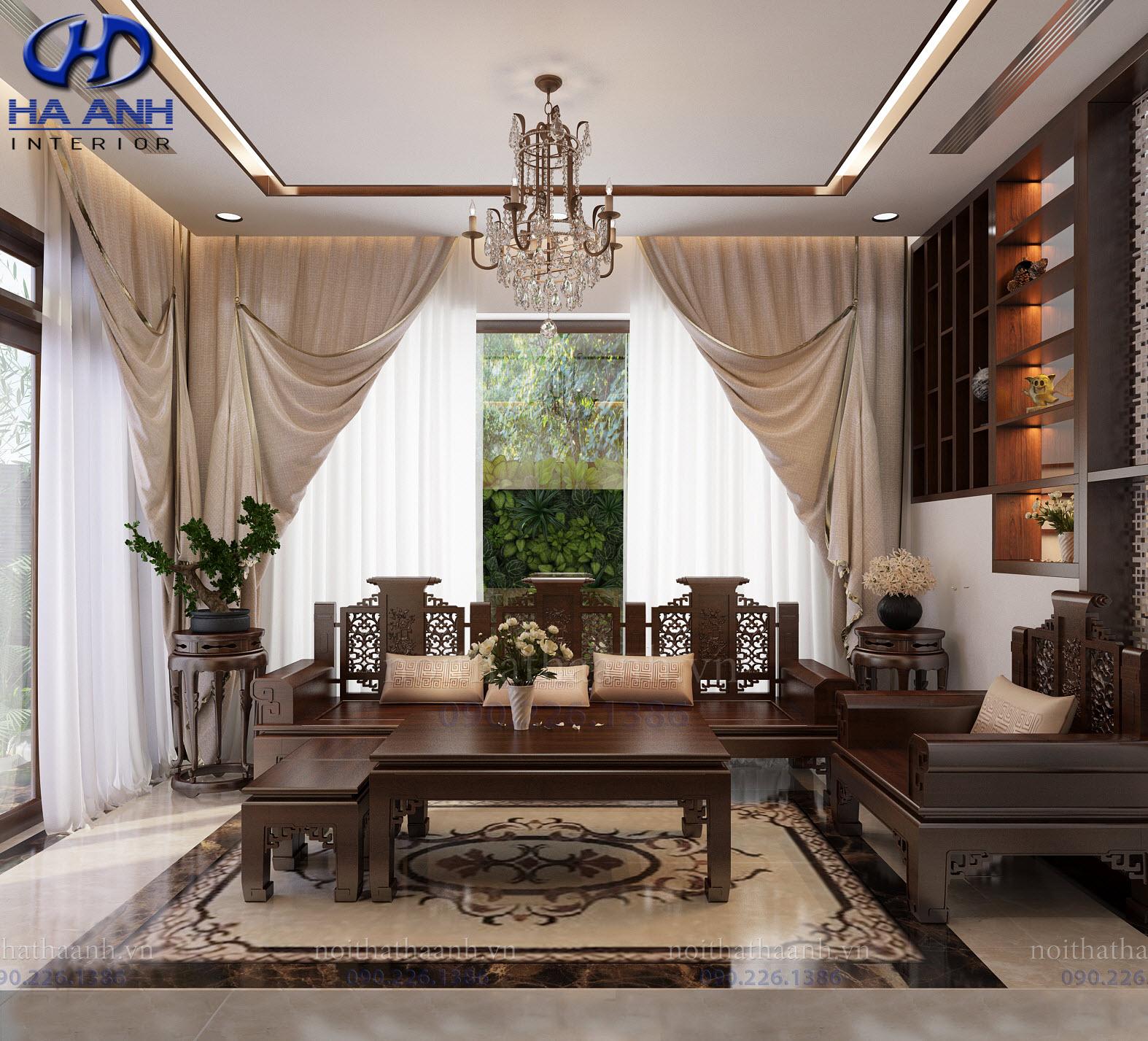 Thiết kế và thi công nội thất gia đình chị Vân TP Sơn La-0
