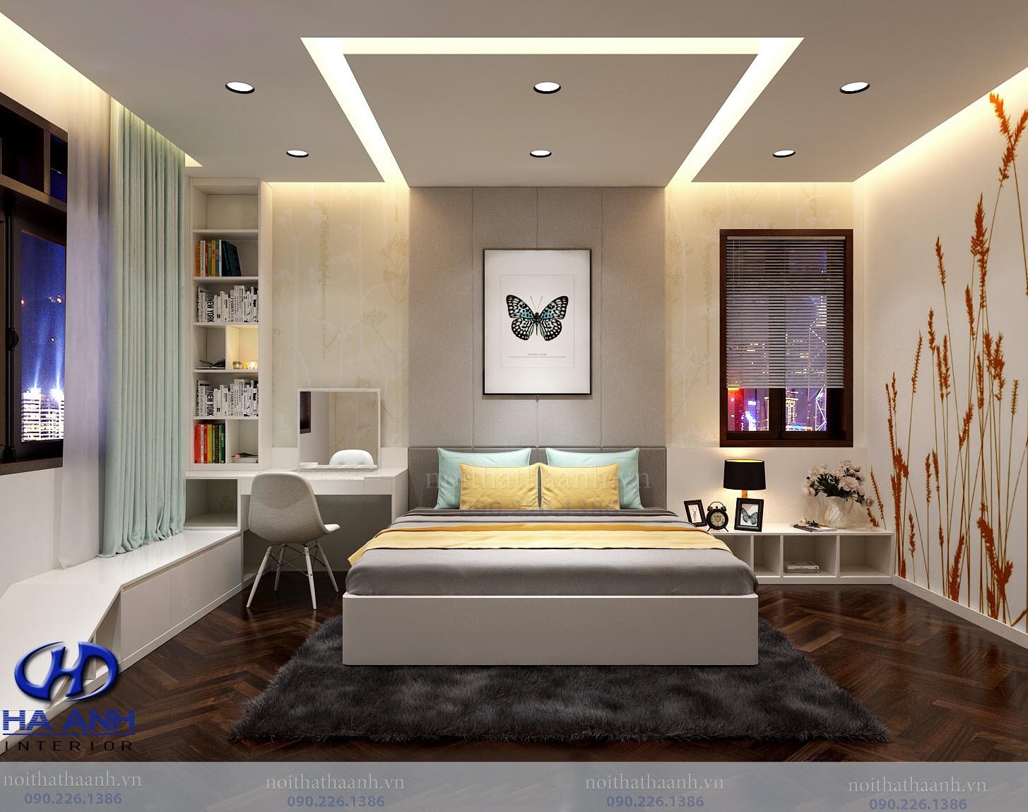 Thiết kế và thi công nội thất gia đình chị Vân TP Sơn La-3