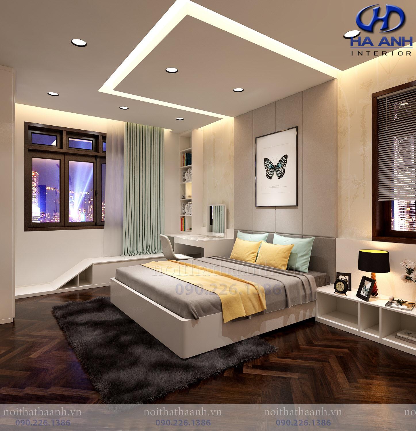 Thiết kế và thi công nội thất gia đình chị Vân TP Sơn La-4