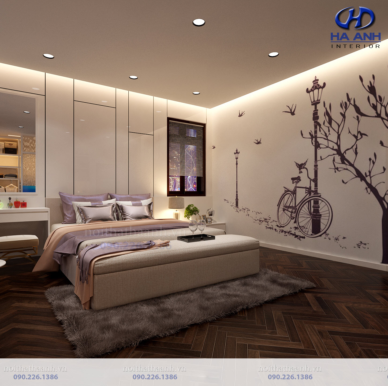 Thiết kế và thi công nội thất gia đình chị Vân TP Sơn La-7