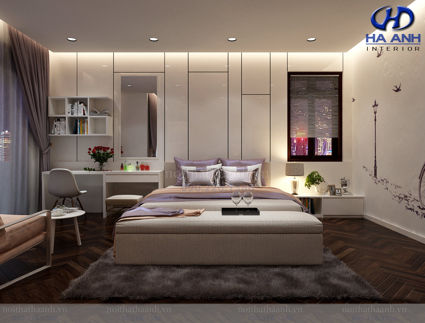 Thiết kế và thi công nội thất gia đình chị Vân TP Sơn La-8