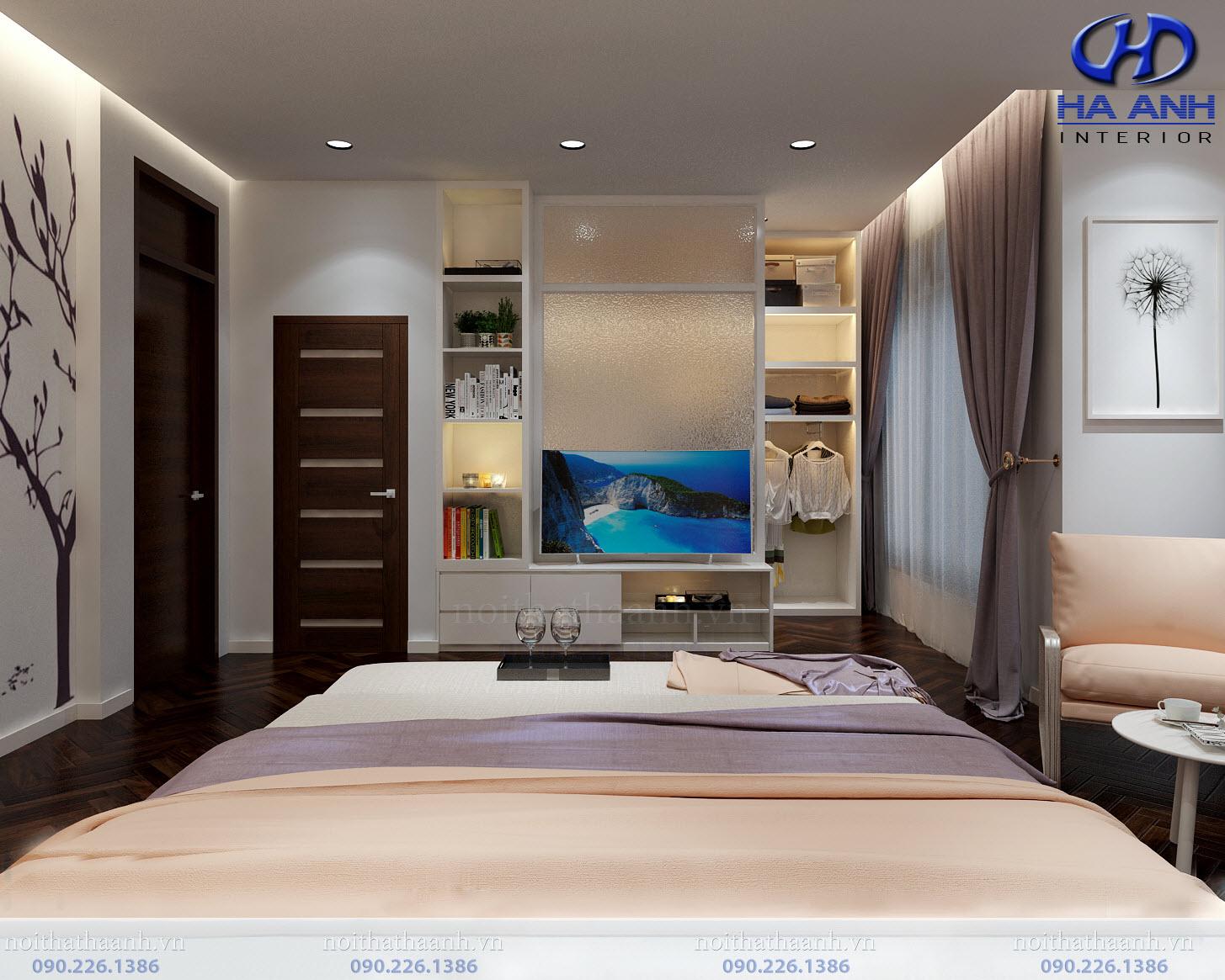 Thiết kế và thi công nội thất gia đình chị Vân TP Sơn La-9