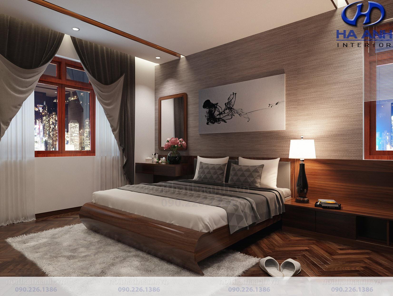 Thiết kế và thi công nội thất gia đình chị Vân TP Sơn La-12
