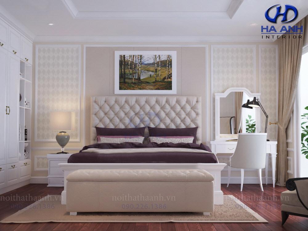 Thiết kế và thi công nội thất chung cư Le Pont D'or Chú Dũng Hoàng Cầu-8